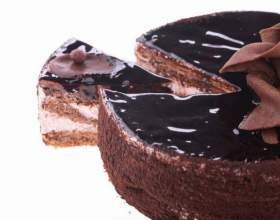 Как сделать глазурь на торт фото