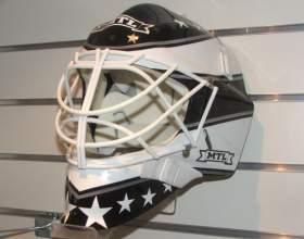 Как сделать хоккейную маску фото