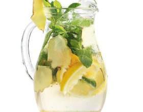 Как сделать имбирный лимонад фото