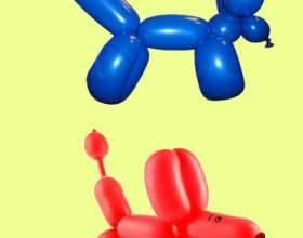 Как сделать из шариков собачку фото