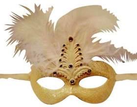 Как сделать карнавальную маску фото