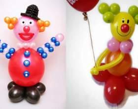 Как сделать клоуна из воздушных шаров своими руками фото