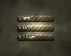 Как сделать кнопки  для сайта в фотошопе фото