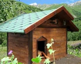 Как построить будку собаке фото