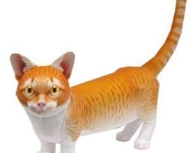 Как сделать кошку оригами фото