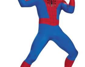 Как сделать костюм, как у человека-паука фото