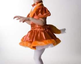 Как сделать костюм лисы фото