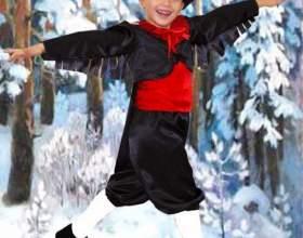 Как сделать костюм снегиря фото
