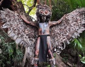 Как сделать костюм совы своими руками фото