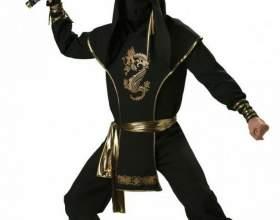 Как сделать костюм воина ниндзя фото