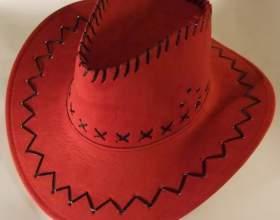 Как сделать ковбойскую шляпу фото