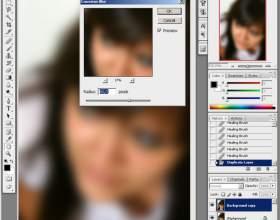 Как сделать кожу в фотошопе красивой фото