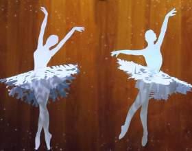 """Как сделать красивое новогоднее украшение """"снежинки-балеринки"""" фото"""