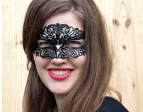 Как сделать красивую карнавальную маску фото