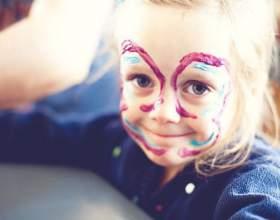 Как сделать краски для лица фото