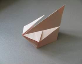 Как сделать кролика из бумаги фото
