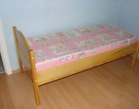 Как сделать кровать для ребенка фото