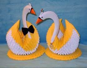 Как сделать лебедя своими руками фото
