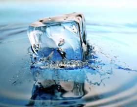 Как сделать лёд прозрачным фото