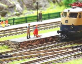 Как сделать макет для железной дороги фото