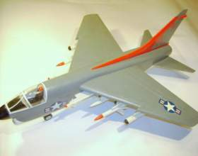 Как сделать макет самолёта фото
