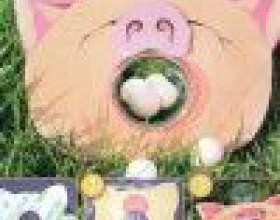 Как сделать мишень-свинку фото