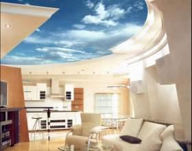 Как сделать многоуровневый натяжной потолок фото