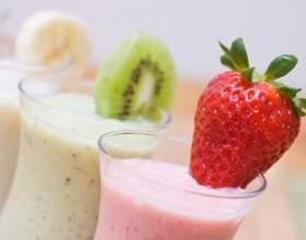 Как сделать молочный коктейль с фруктами фото