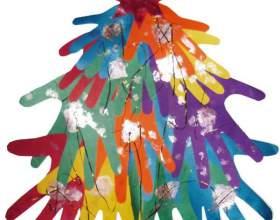 Как сделать новогоднюю елку из бумаги фото