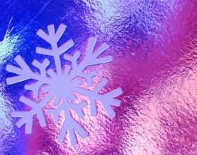 Как сделать новогоднюю снежинку фото