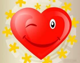 Как сделать объемное сердечко фото