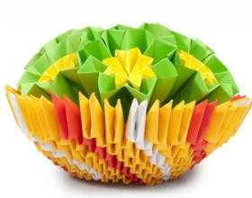 Как сделать объемные оригами фото