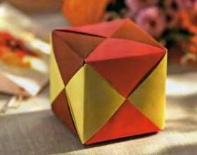 Как сделать объемный куб из бумаги фото