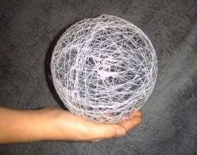 Как сделать объёмные шары фото