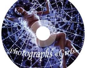 Как сделать обложку диска фото