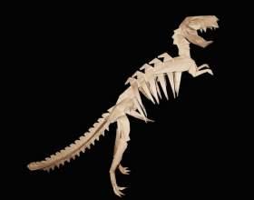 Как сделать оригами-динозавра фото