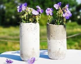 Как сделать оригинальную вазу своими руками фото