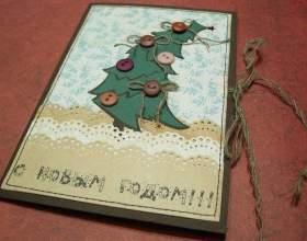 Как сделать оригинальные новогодние открытки фото