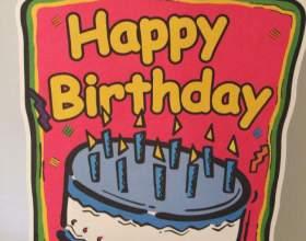 Как сделать открытки на день рождения фото