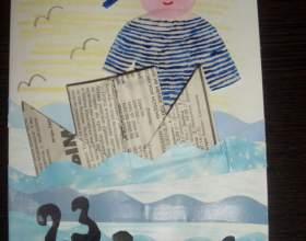 Как сделать открытки своими руками на 23 февраля фото