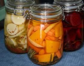 Как сделать овощную смесь в маринаде фото
