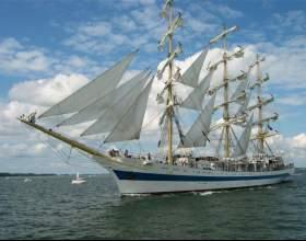 Как сделать парусный корабль фото