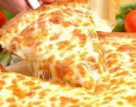 Как сделать пиццу с сыром фото