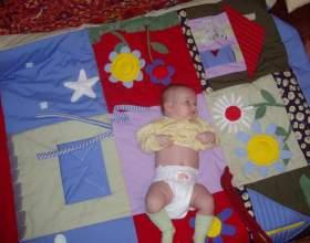 Как сделать развивающий коврик для ребенка фото