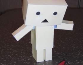 Как сделать робота из картона фото