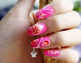 Как сделать самим узор на ногтях фото