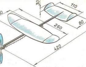 Как сделать самолет из пенопласта фото