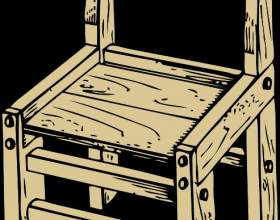 Как сделать самому деревянный стул фото