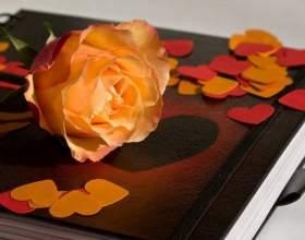 Как сделать свадебную книгу пожеланий фото