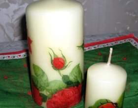 Как сделать свечи своими руками фото